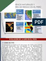 Gestión de riesgos de Desastres