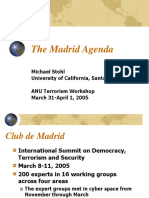 The Madrid Agenda