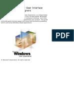 Windows User Experience