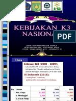 Kebijakan k3 Nasional Revisi
