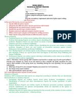Work Sheet 4 Technical Report Writing