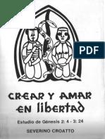 Croatto Crear y Amar en Libertad Genesis 24 324