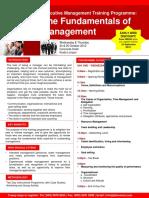 The Fundamentals of Management 24 25 Oct 2012
