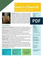 st saviours newsletter - 7 jan 2018
