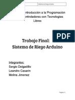 Micro Control Adores Plant Du i No Arduino
