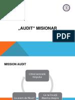 1 Audit Misionar