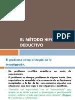 El Metodo Hipotetico Deductivo