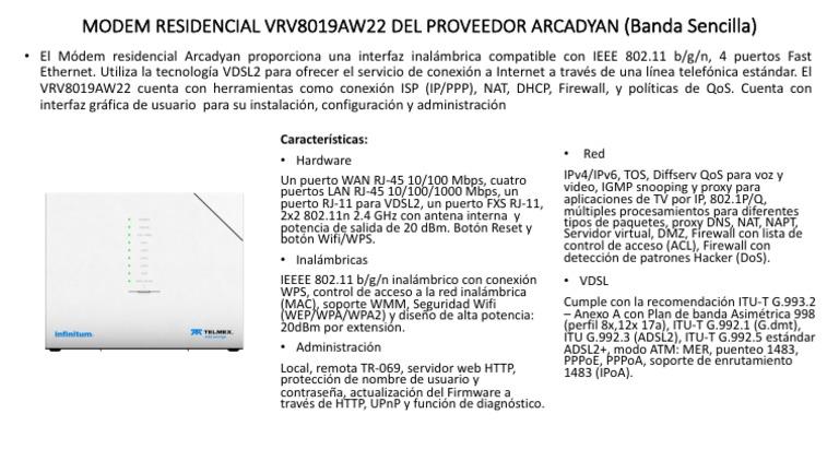 Guia-modem Arcadyan VRV8019AW22