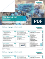Technical Slides TIA Portal V15 En