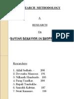 Consumer Buying Behavior in Shoppingmall-090404033135-Phpapp01