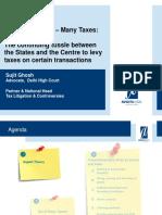 15. One Transaction Many Taxes