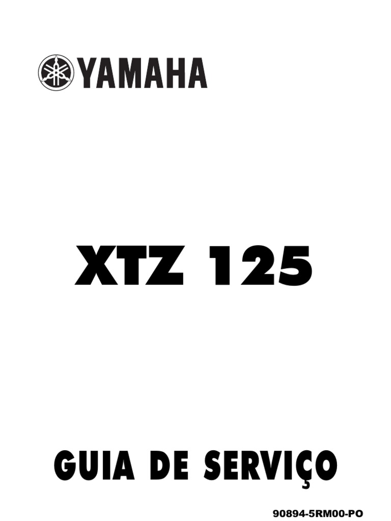 Yamaha XTZ125 Guia Servi Spanish