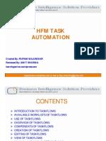 HFM Task Atumation