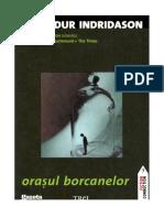 Indridason Arnaldur - Orasul borcanelor.pdf