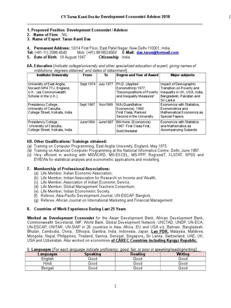 Niedlich Lebenslauf Für Job Indien Einreichen Zeitgenössisch - Entry ...