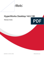 HyperWorks Desktop 14.0.130 ReleaseNotes