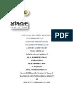 MBA- IR Project