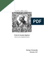 Pico Della Mirandola - Enrique Oromendía