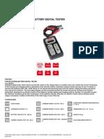 802665 e Dts700 System-battery Digital Tester