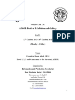 Gallery and Exhibtion 2015