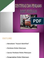 4 Identifikasi & Penilaian Risk Pekerjaan