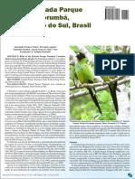Aves Da Estrada Parque Pantanal