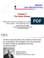 05 - Chapter 2 _ the Value Stream