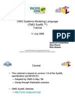SysML Tutorial Baseline to INCOSE 060524 Low Res