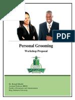 Personal Grooming Proposal