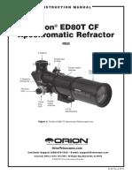 Orion Ed80t Cf