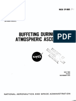 NASA - sp8001 - Space Vehicle Design Criteria - Buffeting During Atmospheric Ascent.pdf