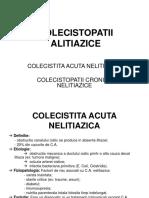 COLECISTOPATII ALITIAZICE