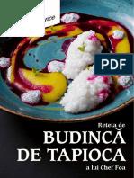 Reteta Tapioca - ChefXperience