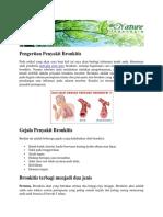 Pengobatan Herbal Penyakit Bronhitis