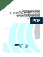 18_05 Draft EN300440-2_clean for Approval Undergo PE ETSI Rev