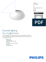 33369 65k Led Ceiling Wht 10w