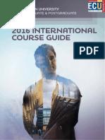 ECU International Course Guide