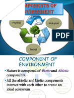 Components of Environment