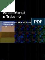 Série Saúde Mental e Trabalho, Volume 1