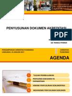 1. Penyusunan Dokumen Akreditasi