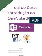 Introdução Ao OneNote 2016