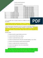 Presentation Parameters