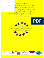 Economic System of the EU and Accession of Bosnia and Herzegovina