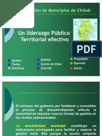 Presentación Carlos Gómez Asociación de Municipios Chiloé
