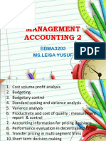 Management Accounting 2