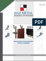 Haz Metal Natural Stone Fixings Catalog 03.2008ver1