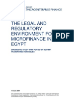 Micro Finance in Egypt