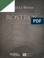 David Le Breton - Rostros - Ensayo de antropología.pdf
