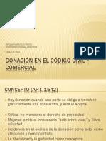 Otero - Donaciones inmobiliarias. Diplomatura en Contratos 2017. Teori¦üa