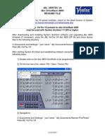 JBL VerTec V4 dbx DriveRack 4800 README FILE.pdf